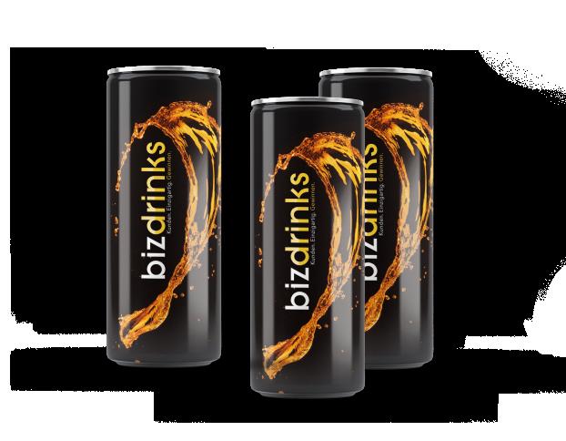 Wir gestalten Energy Drinks mit eigenem Logo